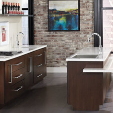 Contemporary Kitchen by Moen