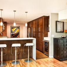 Contemporary Kitchen Mognolia Remodel