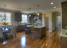 What's the name of the granite and backsplash?  Beautiful kitchen!