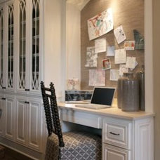 Traditional Kitchen by Julie Couch Interiors