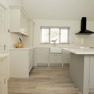 Cucina con top in quarzite Cambridgeshire - Foto e Idee per ...