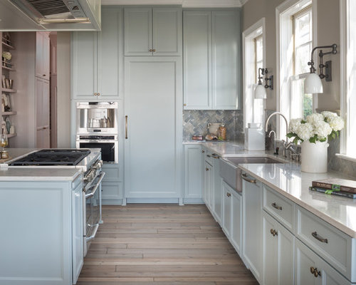 light blue kitchen cabinets light blue kitchen cabinets houzz 6960
