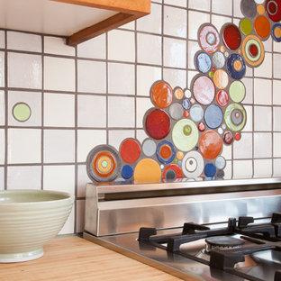 Mondrian Bubbles River Kitchen