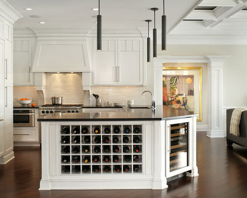 Built In Wine Rack Home Design Ideas, Pictures, Remodel and Decor