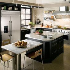 Contemporary Major Kitchen Appliances by GE Monogram
