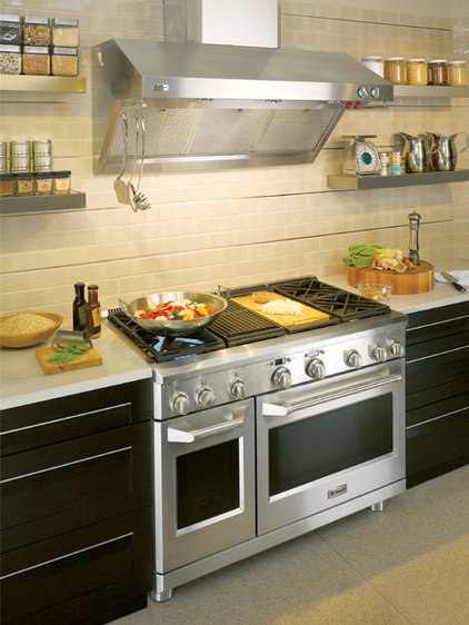 Contemporary Gas Ranges And Electric Ranges by GE Monogram