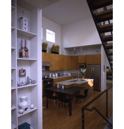 Contemporary Kitchen by Demerly Architects