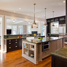 Traditional Kitchen by Moore Architects, PC