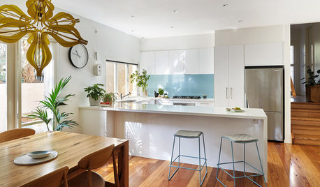 Room of the Week: A Funky Kitchen for a Young Family