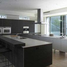 Modern Kitchen MONTALBA ARCHITECTS INC