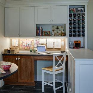 Montclair Kitchen + Family Room + Powder Room