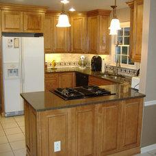 Traditional Kitchen by David L. Scott / Lowe's Design Center