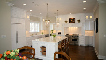 Montclair, NJ White Inset Kitchen Designed by David Earl