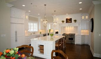 Montclair, NJ White Inset Kitchen Designed by David Earl