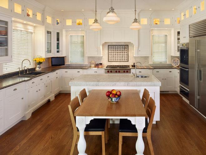 Rustic Kitchen by Ekman Design Studio