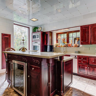 Enjoyable 75 Most Popular Rustic Red Kitchen Design Ideas For 2019 Home Interior And Landscaping Spoatsignezvosmurscom