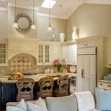 Beach Style Kitchen by Debra Lynn Henno Design