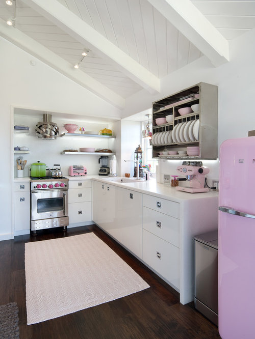 Light Pink Kitchen Home Design Ideas, Pictures, Remodel and Decor
