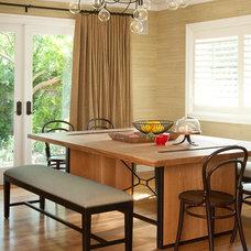 Traditional Kitchen by Jessica Risko Smith Interior Design