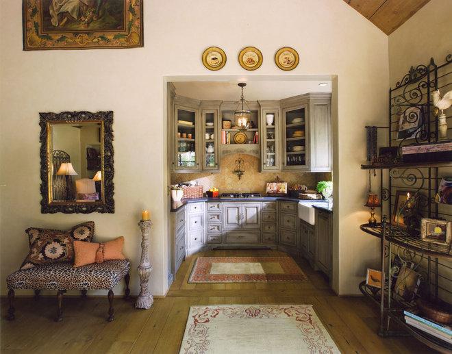 Mediterranean Kitchen by J. Grant Design Studio
