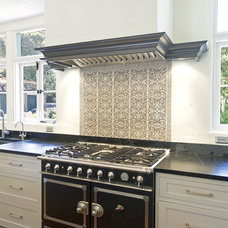 mediterranean kitchen by Lori Smyth Design