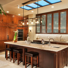 Mediterranean Kitchen by Stuart D. Shayman Associates