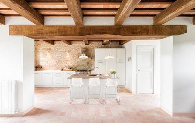 31 Pavimenti Che Si Sposano con una Cucina Bianca