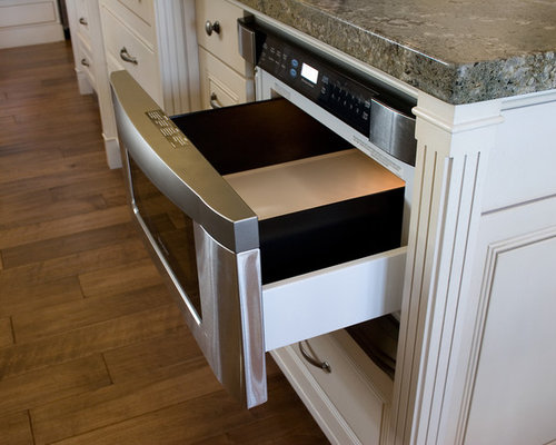 Microwave Drawer In Island Houzz