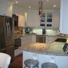 Traditional Kitchen by Michelle Yaworski – Gem Cabinets Ltd