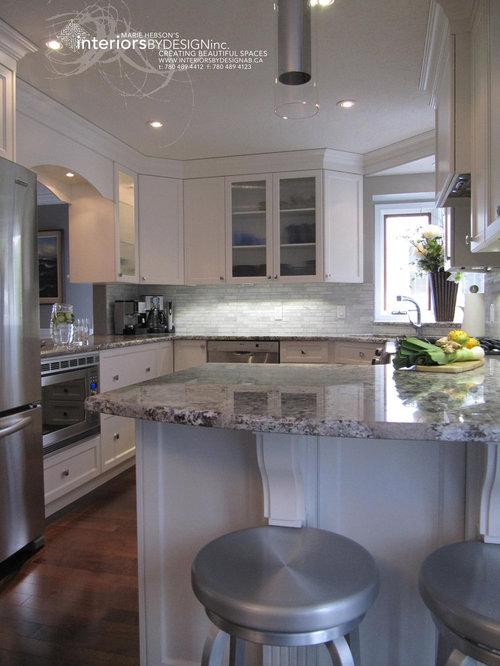 Azul aran houzz for Kitchen cabinets yorktown ny