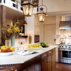 traditional kitchen by Montgomery Roth Architecture and Interior Design