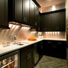 Contemporary Kitchen by Mary DeWalt Design Group