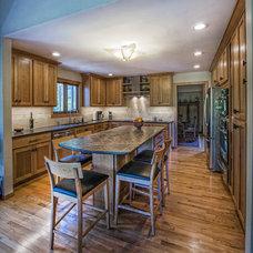 Contemporary Kitchen by Monticello Homes & Development