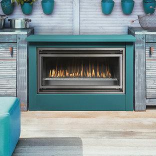 Eclectic kitchen designs - Kitchen - eclectic kitchen idea in Calgary