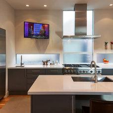 Contemporary Kitchen by Jeffrey Harrington Homes