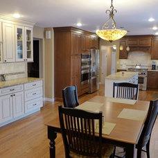Traditional Kitchen Cabinetry by Blue Ridge Kitchens & Baths