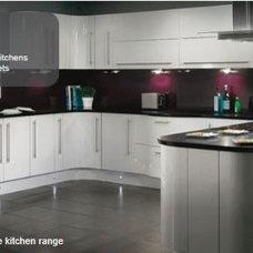 Modern Kitchen Monzo White Gloss Kitchen
