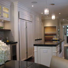 Contemporary Kitchen by Stacy McLennan Interiors