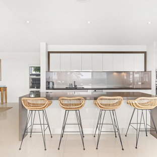 Inspiration for a beach style kitchen in Central Coast.