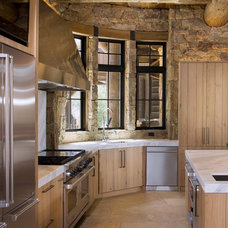 Rustic Kitchen by Reed Design Group