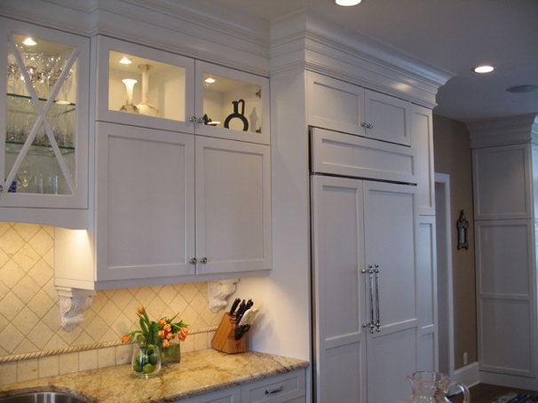 Transitional Kitchen by FitzPatrick Design and Cabinetry