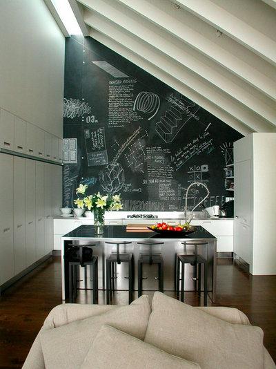 8 motivi pi o meno seri per avere una parete lavagna in - Parete lavagna cucina ...