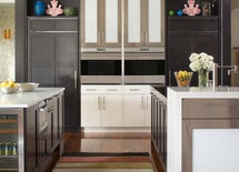 Hi! The cabinets are beautiful! What is the wood and  finish? Thanks!