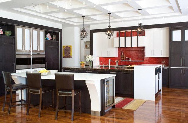 Contemporary Kitchen by Angela Otten - Inspire Kitchen Design Studio
