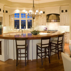 Traditional Kitchen by McKinley Masters Custom Homes