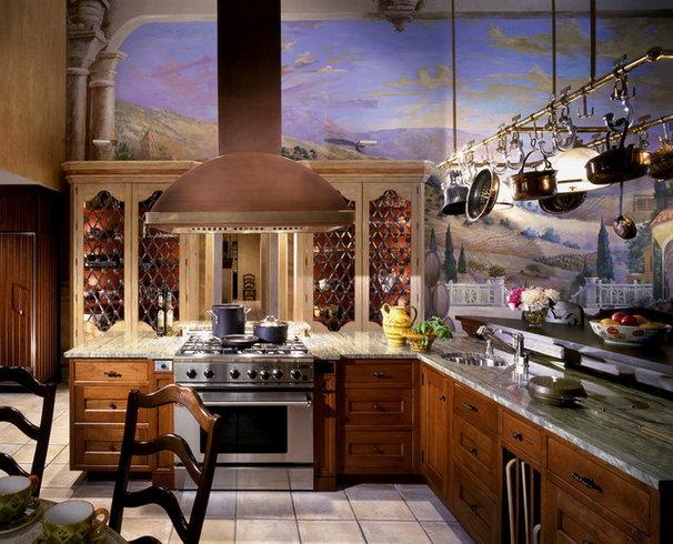 Mediterranean Kitchen by The Hammer & Nail, Inc.