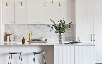 Room of the Week: A Pale and Interesting New-Build Kitchen