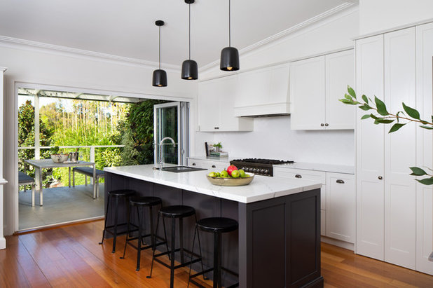 Transitional Kitchen by Style & Design