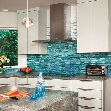 Mosaic Tile back splash