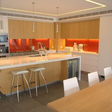 Contemporary Kitchen by Look Design Group P/L